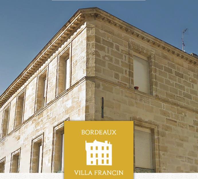 VILLA FRANCIN – BORDEAUX – Pinel ancien/Déficit Foncier